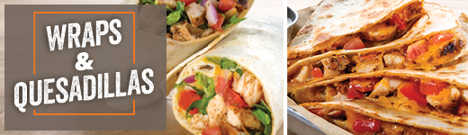 WRAPS & QUESADILLAS image